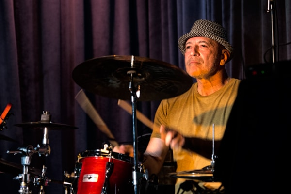 John Cleave - Drummer for Blu J'z